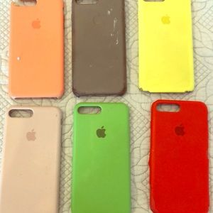 All used Condition iPhone 8 Plus silicone apple